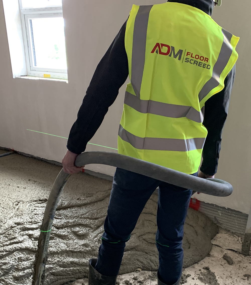 ADM Floor Screed Poured Floored Insulation